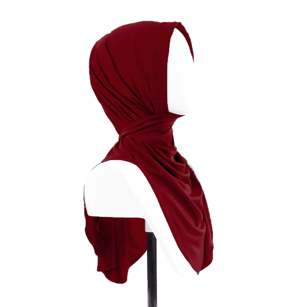 Butterfly Hijab - Haute Red