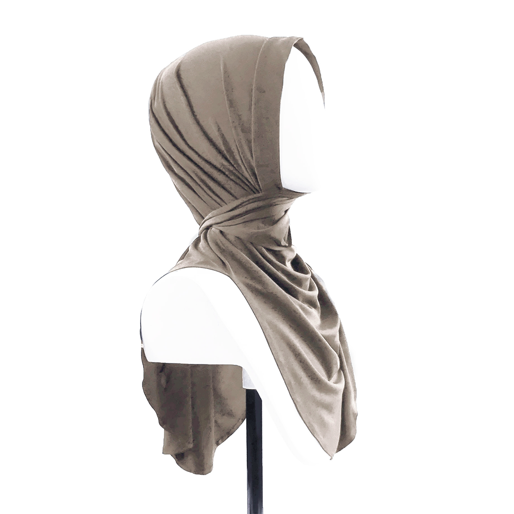 Butterfly Hijab - Portobello Taupe