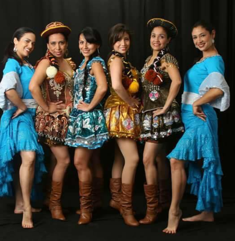photo of the dance group Pasión Peruana.