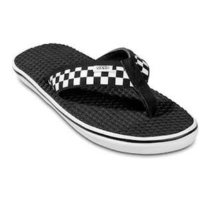 VANS LA COSTA LITE SANDALS BLACK CHECKERBOARD
