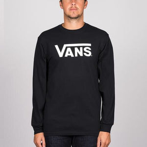 VANS CLASSIC LONG SLEEVE BLACK