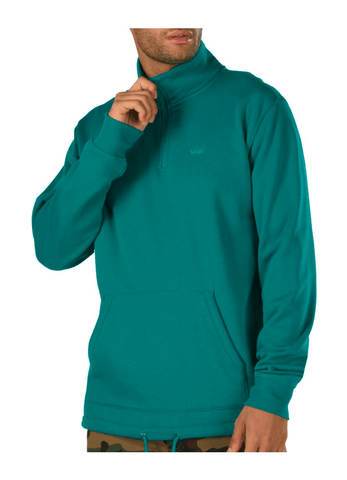 VANS VERSA QUARTER ZIP GREEN