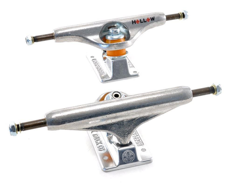 INDEPENDENT FORGED HOLLOW SILVER TRUCKS