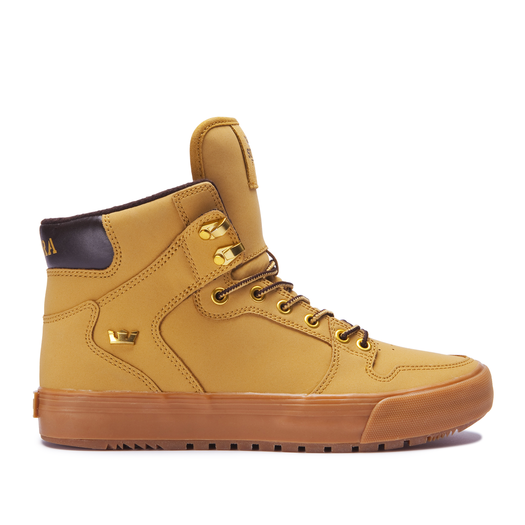 SUPRA VAIDER CW SHOE AMBER GOLD/ LIGHT GUM