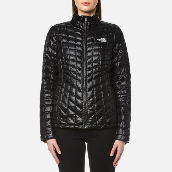 THE NORTH FACE WOMENS THERMOBALL JACKET BLACK