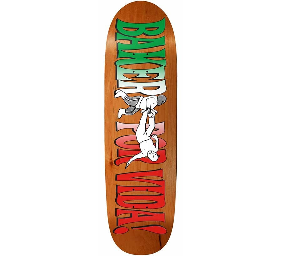 BAKER POR VIDA SHAPED DECK 9.25