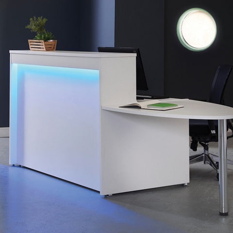 Welcome reception desks