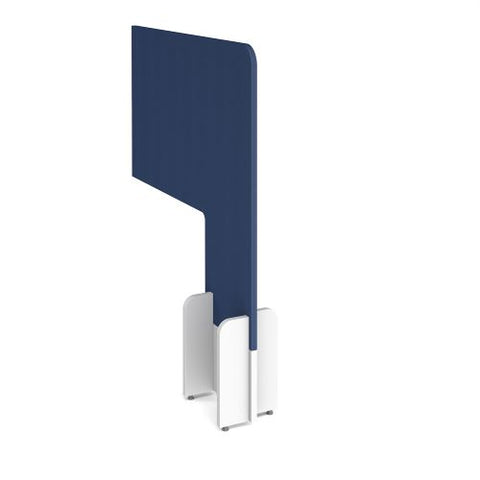 Desk division floor standing fabric screen - cluanie blue - Furniture