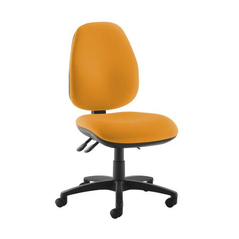 Jota high back operator chair with no arms - Solano Yellow - Furniture
