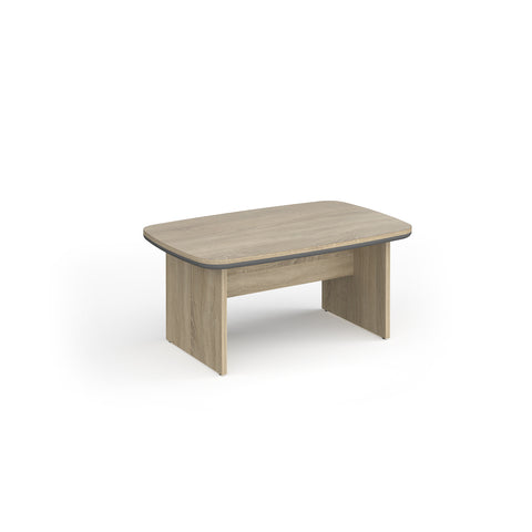 Magnum coffee table 1100mm x 700mm - light oak - Furniture