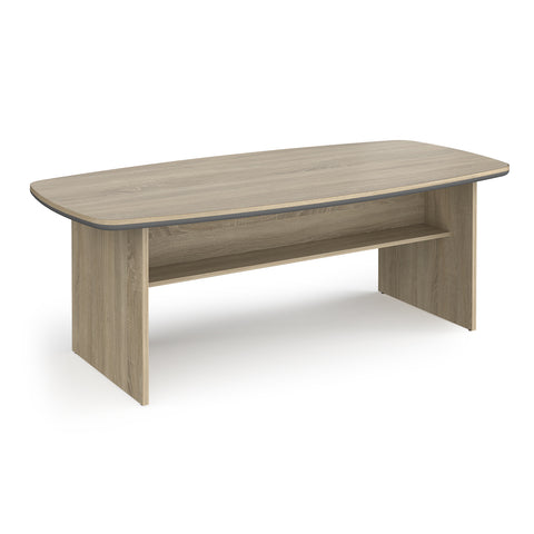 Magnum conference table 2100mm x 1000mm - light oak - Furniture