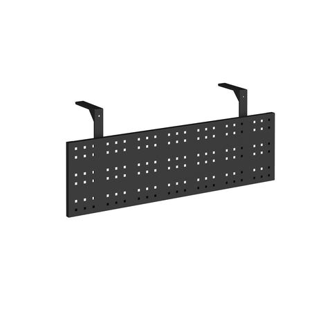 Steel perforated modesty panel for use with 1200mm single desks - - Furniture