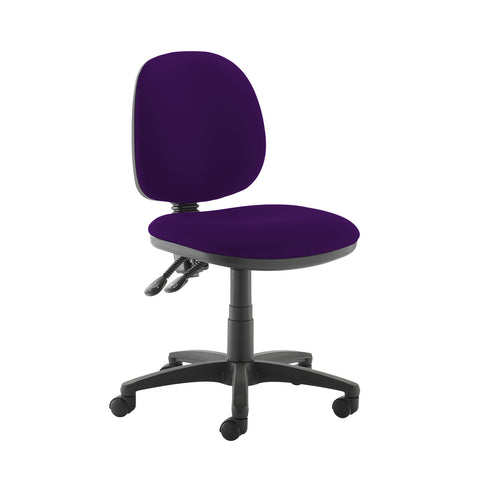 Jota medium back PCB operators chair with no arms - Tarot Purple - Furniture