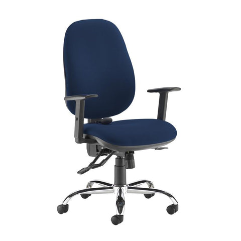 Jota ergo 24hr ergonomic asynchro task chair - Costa Blue - Furniture