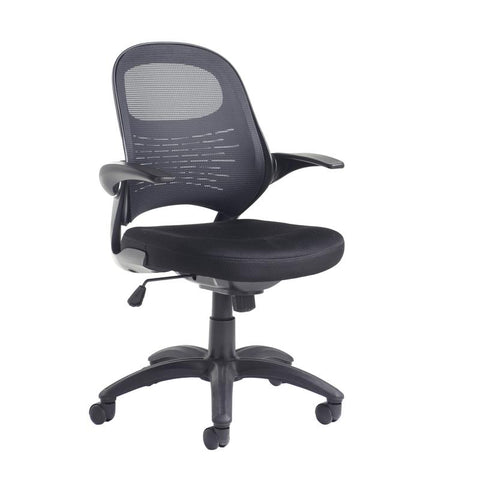 Orion mesh back operators chair - black - Furniture