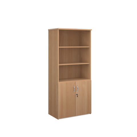 Universal combination unit with open top 1790mm high with 4 shelves - - Furniture