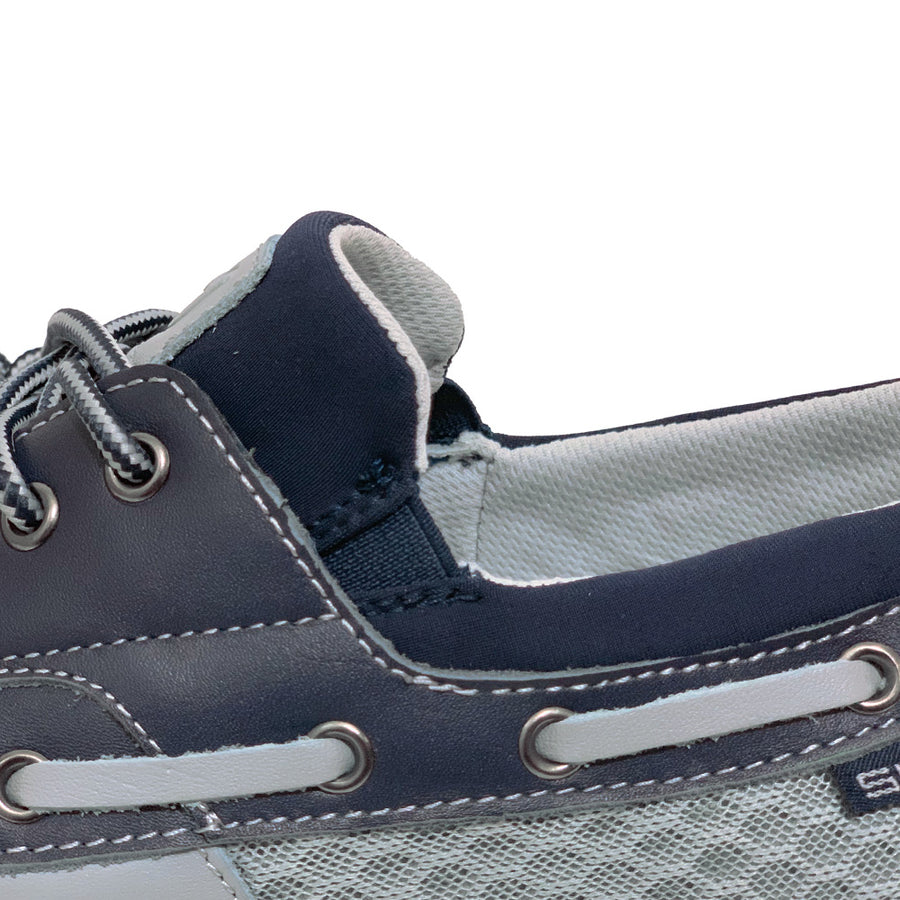 Del Marina by Skuze Shoes <br> Grey & Navy