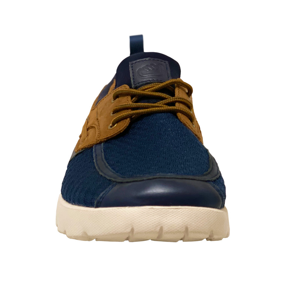 Del Marina by Skuze Shoes - Navy & Brown