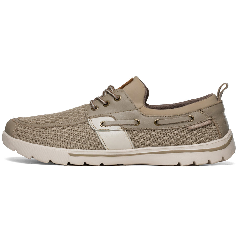 Del Marina by Skuze Shoes - Tan & Beige - Regular Fit