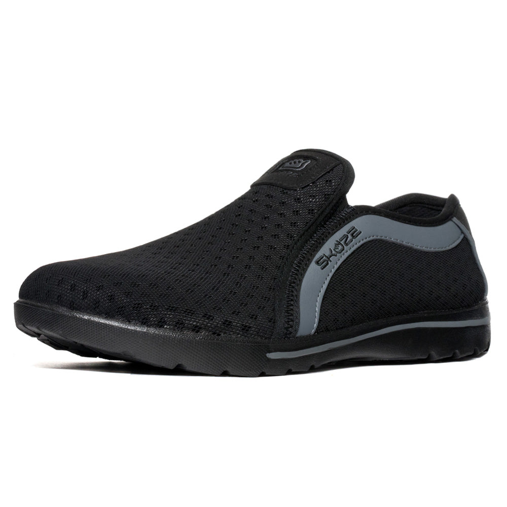 Skuze Shoes Venice - Black & Grey