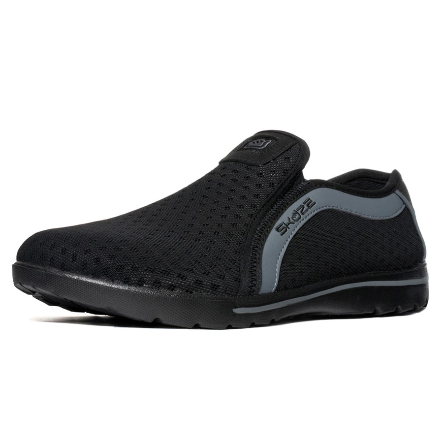 Skuze Shoes Venice <br> Black & Grey