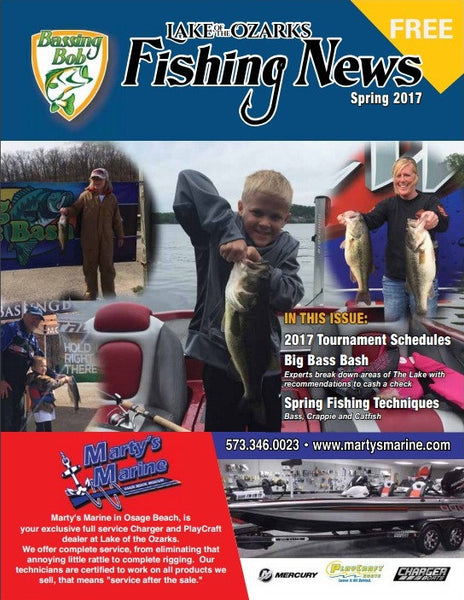 Hi-Def Craw Featured in Lake of the Ozarks Fishing News Magazine