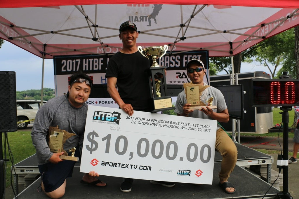 Chase Vue, Wins 2017 HTBF J4 Freedom Bass Fest w/ Help of the Hi-Def Craw