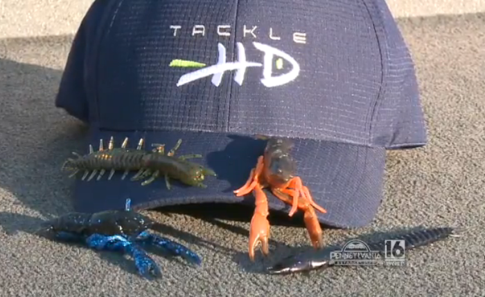 Tackle HD Team Member, Allen Casal, on WNEP's Pennsylvania Outdoor Life