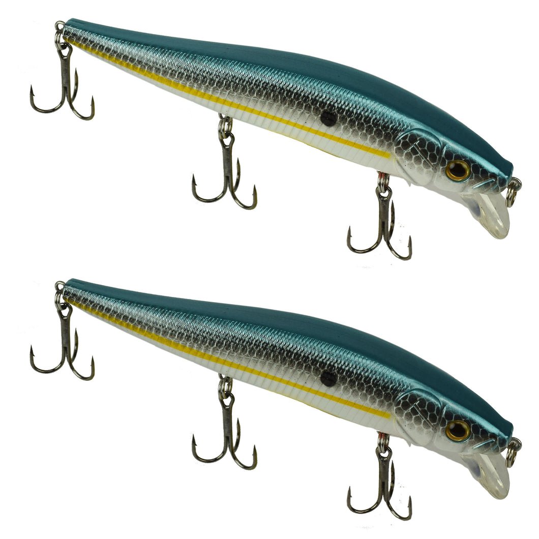 Tackle HD Fiddle-Styx Magnum Jerkbait 2 Pack - SX Shad