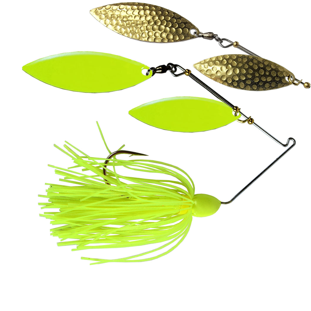 Trophy Bass Co Ozark Flash 1/2-Ounce - Chartreuse