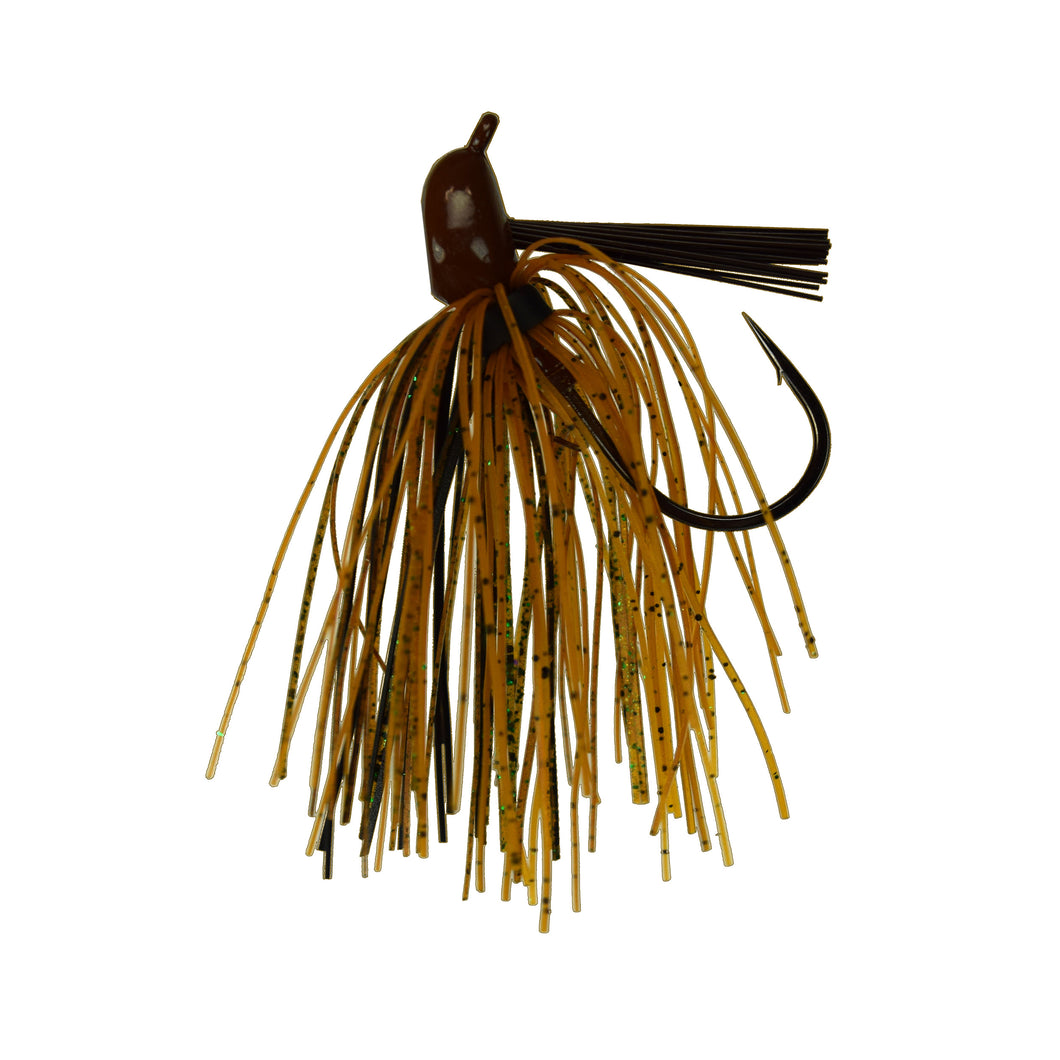 Trophy Bass Pro Jig 2-Pack 1/2-Ounce - Summer Craw