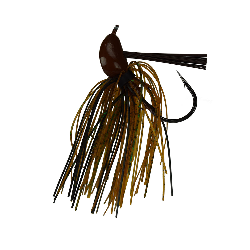 Trophy Bass Co Pro Jig 2-Pack 5/8-Ounce - Black & Brown