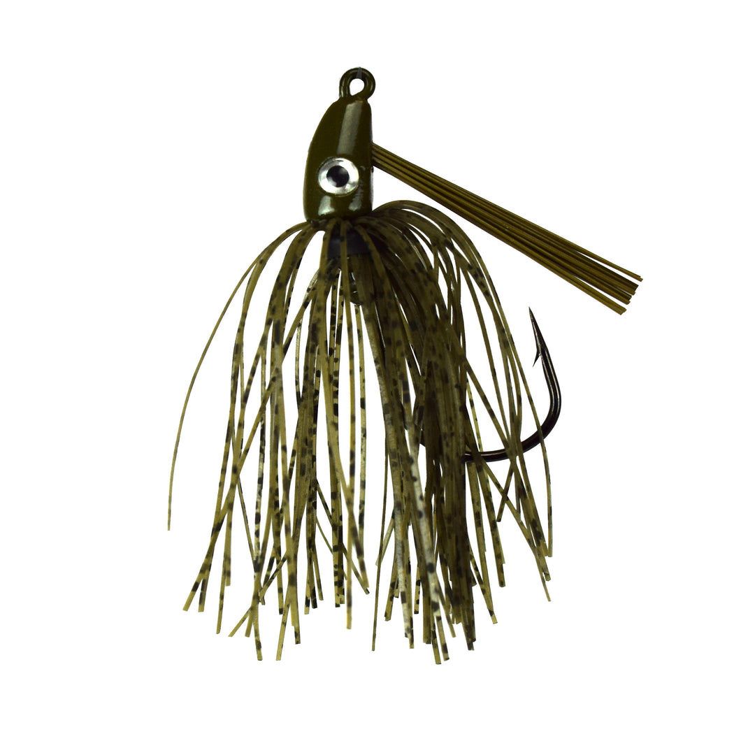Trophy Bass Swim Jig 2-Pack 1/2-Ounce - Natural Craw