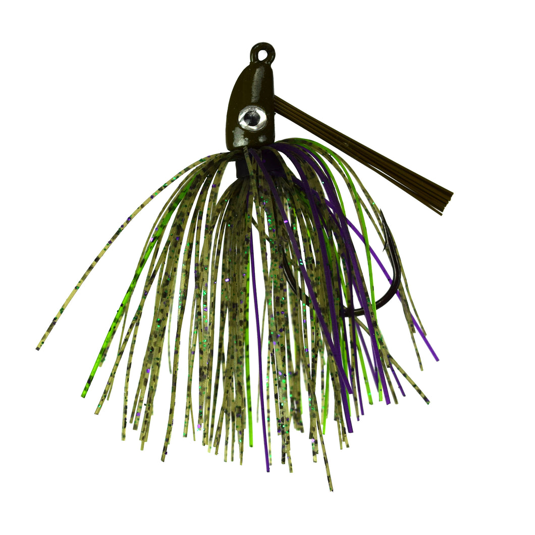 Trophy Bass Swim Jig 2-Pack 1/4-Ounce - Watermelon Candy
