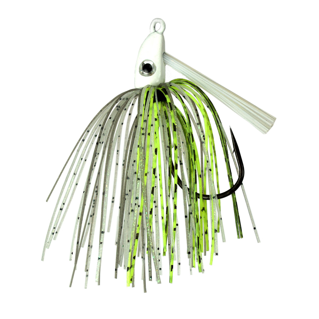 Trophy Bass Co Swim Jig 2-Pack 3/8-Ounce - Green Back Shad