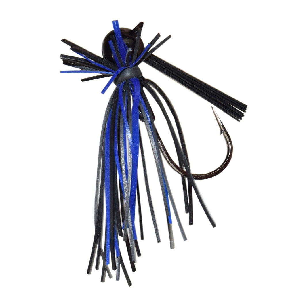 Trophy Bass Co Pro Finesse Jig 2-Pack 5/16-Ounce - Black Blue