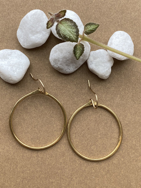 Medium Loop Earring