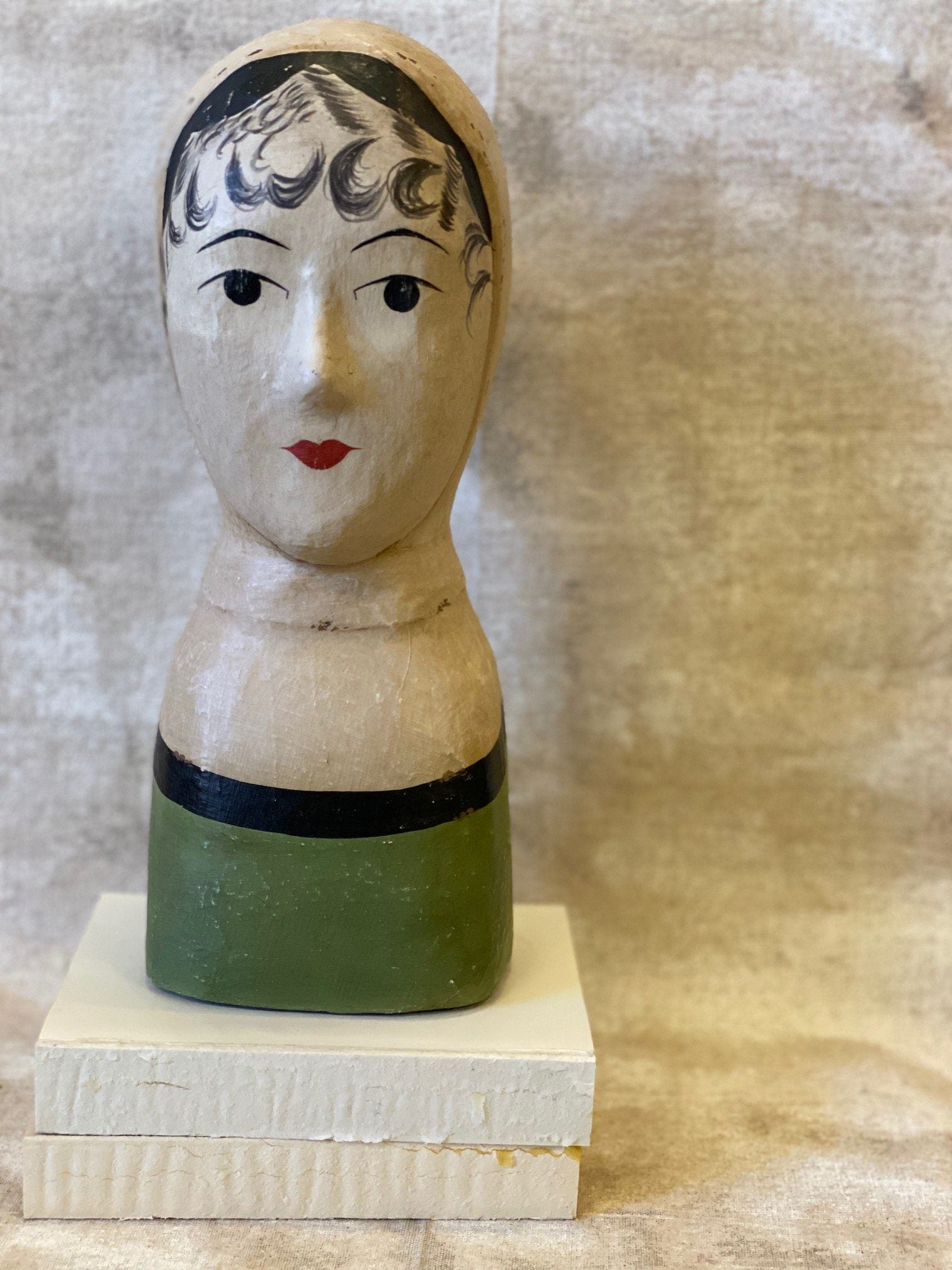 Milinery Papermache Head