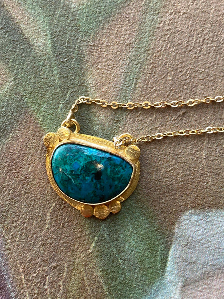 Healing Stone Pendant Necklace