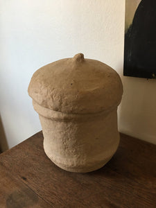 QUIRKY PAPER MACHE VESSEL