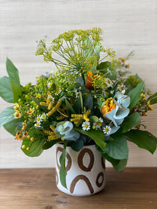 SMALL FLORAL DECANTUR