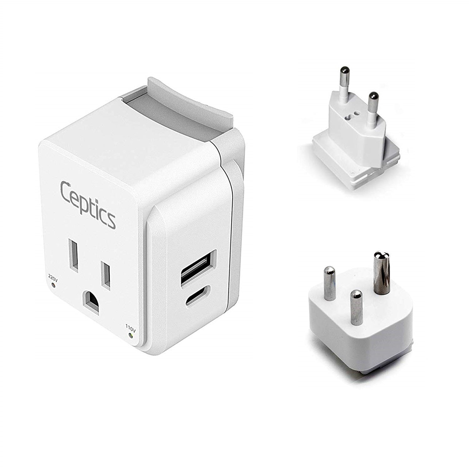 11 pack world travel adapter set
