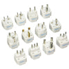 12 pack world travel adapter set