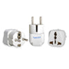 European (Schuko) Travel Adapter - Type E/F - 3 Pack (GP-9)