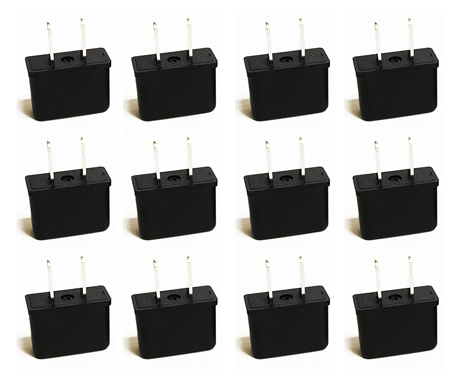USA, Canada Travel Adapter - Type B - 3 Pack (GP-5)