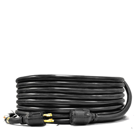 Ceptics L14-30 Generator Extension Power Cord (25 Foot, 30A, 10-AWG)