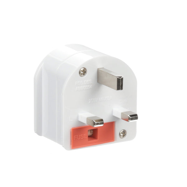 South Africa to UK - Type G - Travel Plug Adapter - Grounded (SA-UK)