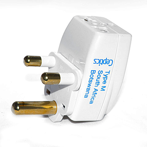 South Africa Travel Adapter - Type M - 3 in 1 (GP3-10L)