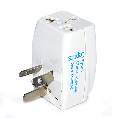 Australia, China Travel Adapter - Type I - 3 in 1 (GP3-16)