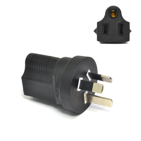 Australia, China Travel Adapter - Type I - Industrial Grade (IG-16)